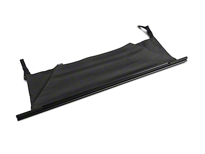 Rugged Ridge Black Tailgate Bar w/ Tonneau Cover (97-06 Jeep Wrangler TJ)