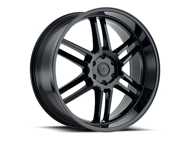 Black Rhino Katavi Gloss Black Wheel - 20x9 (97-06 Jeep Wrangler TJ)