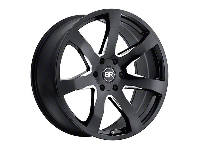 Black Rhino Mozambique Gloss Black Milled Wheel - 18x8.5 (97-06 Jeep Wrangler TJ)