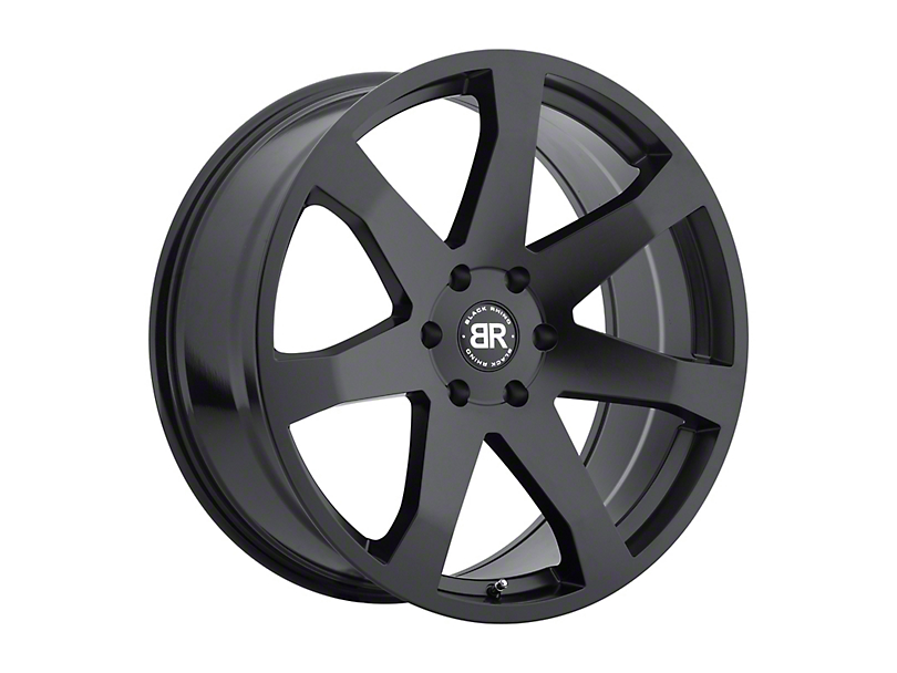 Black Rhino Mozambique Matte Black Wheel - 20x8.5 (97-06 Jeep Wrangler TJ)