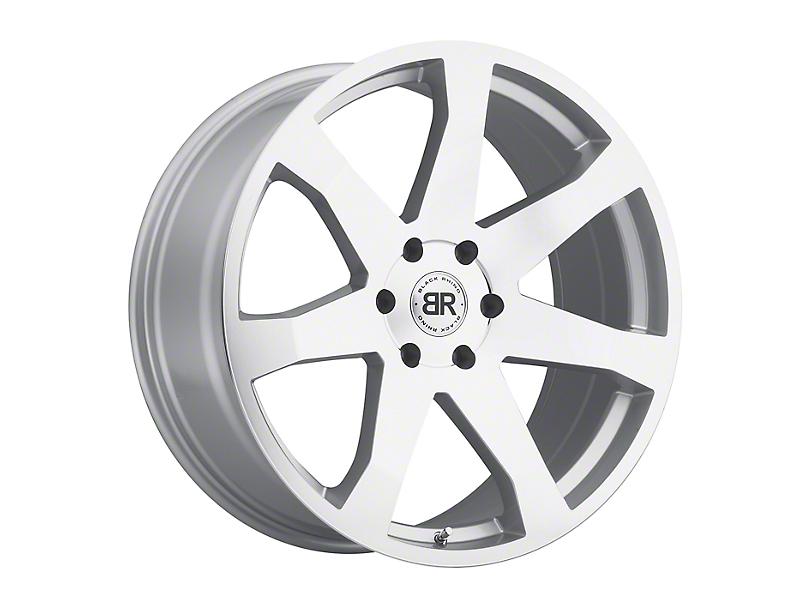 Black Rhino Mozambique Silver Wheel - 18x8.5 (97-06 Jeep Wrangler TJ)