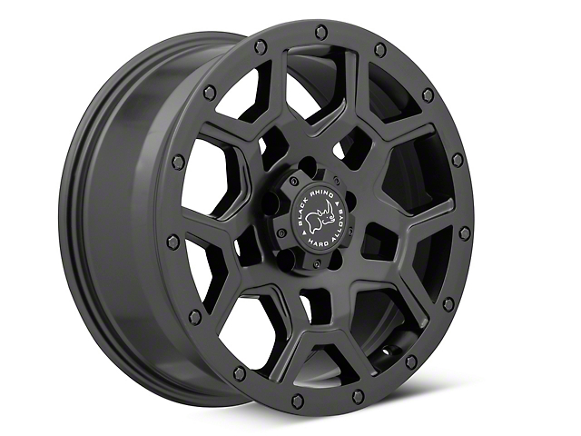 Black Rhino Overland Matte Black Wheel - 18x8 (97-06 Jeep Wrangler TJ)