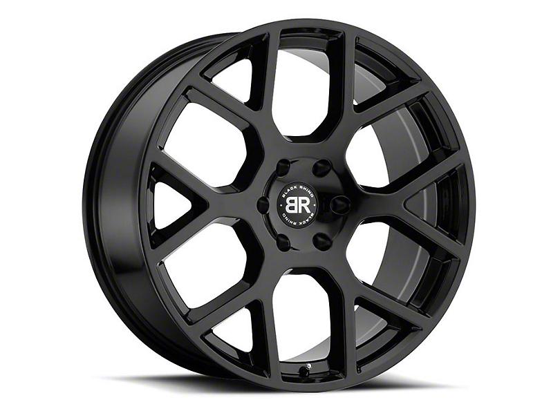 Black Rhino Tembe Gloss Black Wheel - 22x9.5 (97-06 Jeep Wrangler TJ)
