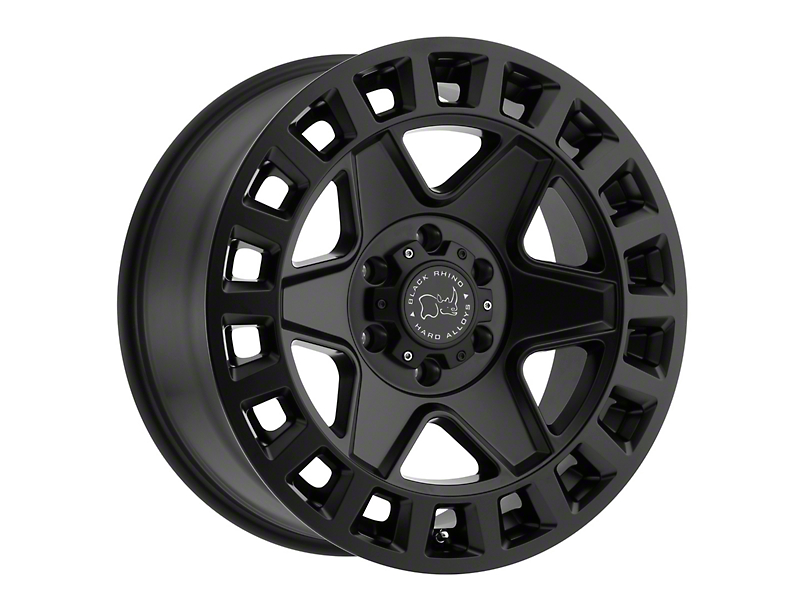 Black Rhino York Matte Black Wheel - 18x8 (97-06 Jeep Wrangler TJ)