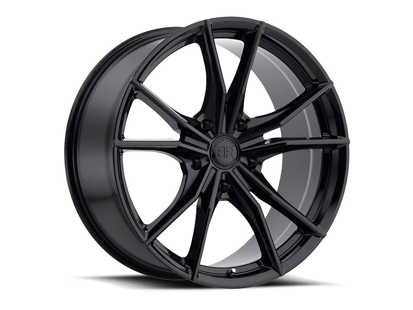 Black Rhino Zion Gloss Black Wheel - 20x9 (97-06 Jeep Wrangler TJ)