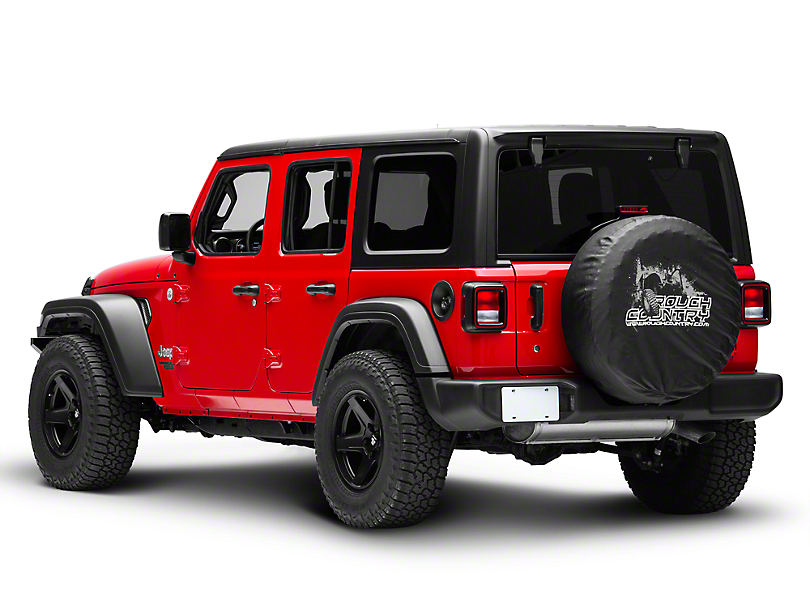Rough Country Spare Tire Cover (87-20 Jeep Wrangler YJ, TJ, JK & JL)