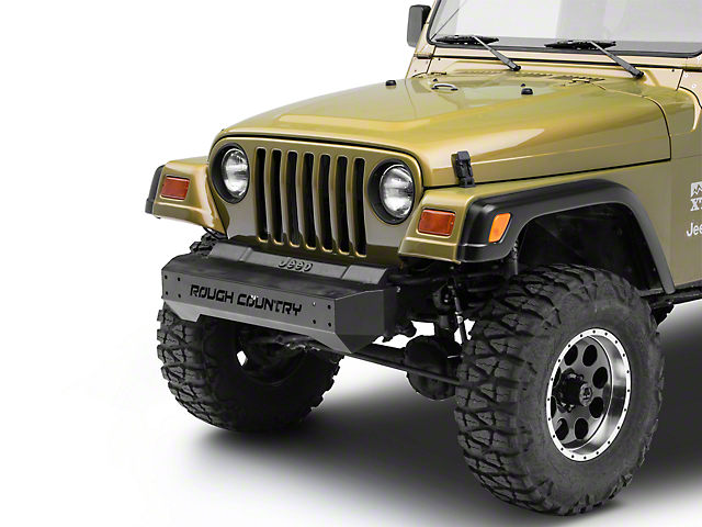 Rough Country Stubby Front Bumper (87-06 Jeep Wrangler YJ & TJ)