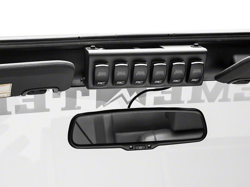 Rough Country MLC-6 Multiple Light Controller (07-18 Jeep Wrangler JK)