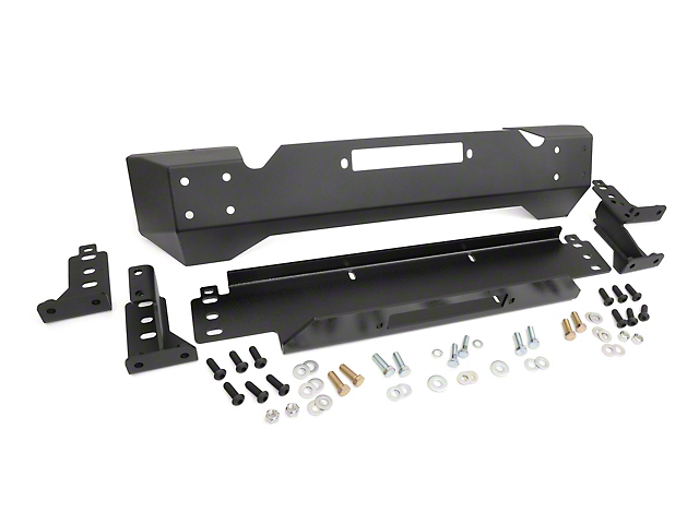 Rough Country Stubby Front Bumper w/ Winch Mount (87-06 Jeep Wrangler YJ & TJ)