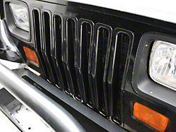 Rugged Ridge Grille Inserts - Black (87-95 Jeep Wrangler YJ)