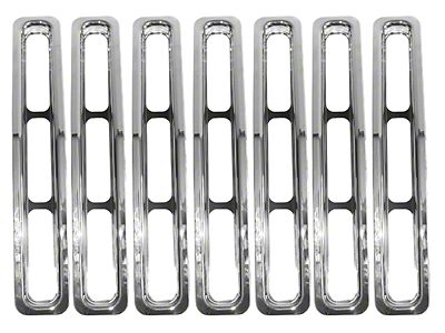 1987-1995 Jeep YJ Grille Inserts | Wrangler | ExtremeTerrain