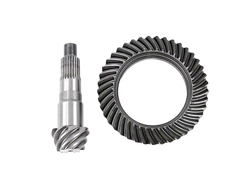 Rough Country Dana 30 Front Axle/35 Rear Axle Ring Gear and Pinion Kit w/ Install Kit - 4.10 Gears (97-06 Jeep Wrangler TJ, Excluding Unlimited)
