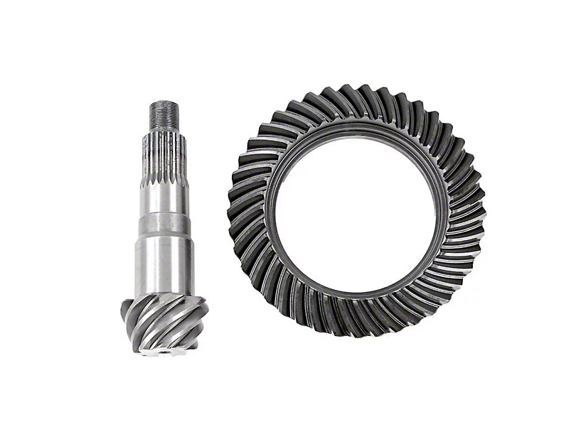 Rough Country Dana 30 Front Axle/35 Rear Axle Ring Gear and Pinion Kit w/ Install Kit - 4.88 Gears (87-95 Jeep Wrangler YJ)