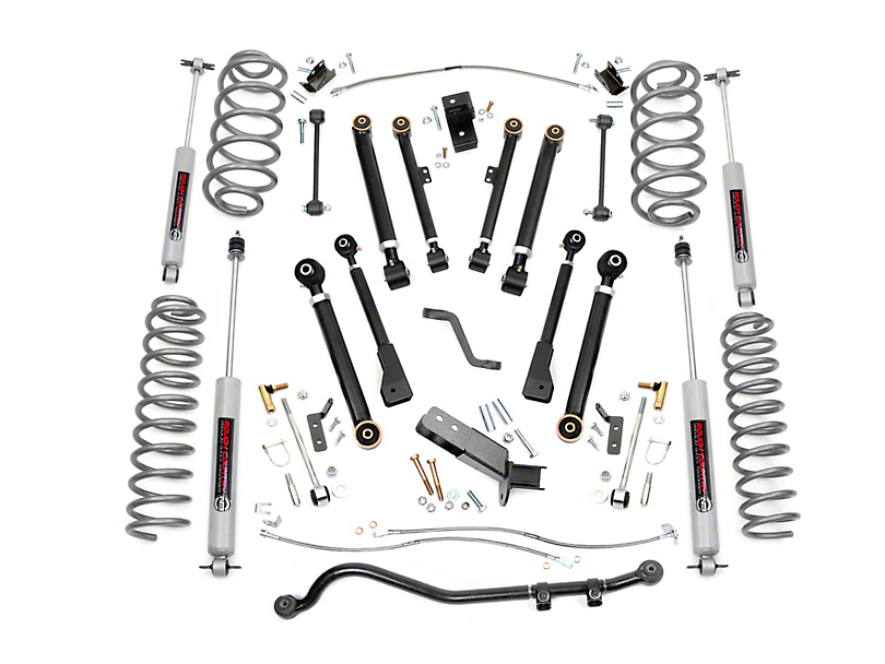 Rough Country 6 in. X-Series Suspsension Lift Kit (97-06 Jeep Wrangler TJ)