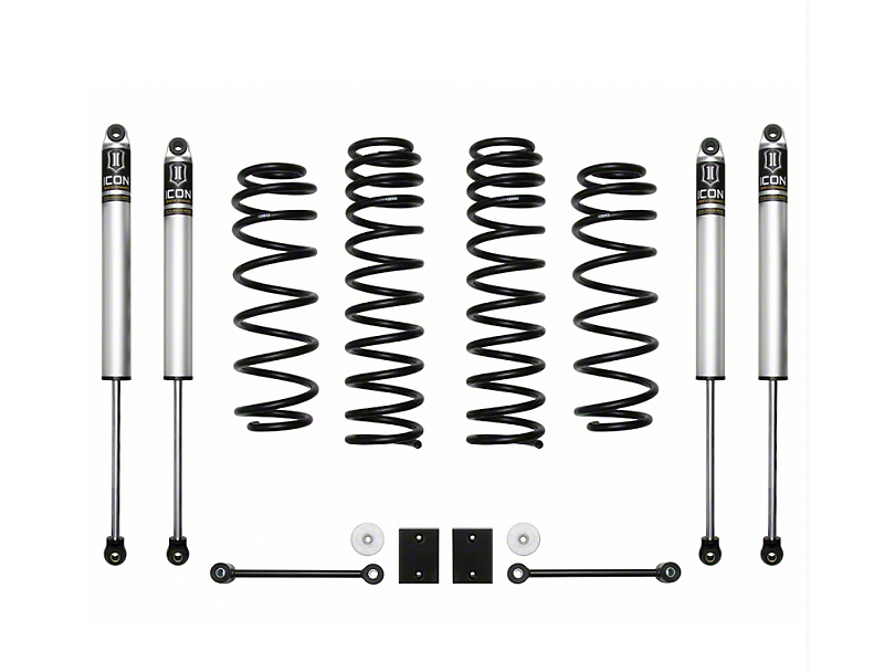 ICON Vehicle Dynamics 2.5 in. Suspension Lift System - Stage 1 (18-20 Jeep Wrangler JL)