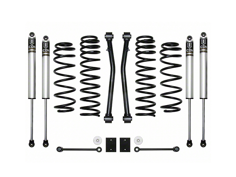 ICON Vehicle Dynamics 2.50-Inch Suspension Lift System; Stage 2 (18-20 Jeep Wrangler JL)