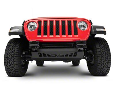 DV8 Off-Road Sway Bar Disconnect Skid Plate (18-19 Jeep Wrangler JL)