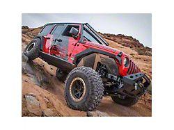 DV8 Off-Road Front Aluminum Inner Fenders - Raw (18-20 Jeep Wrangler JL)