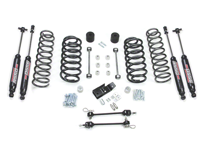 Teraflex 3-Inch Suspension Lift Kit with 9550 Shocks (97-06 Jeep Wrangler TJ)