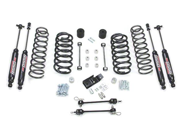 Teraflex 3 in. Suspension Lift Kit w/ 9550 Shocks (97-06 Jeep Wrangler TJ)