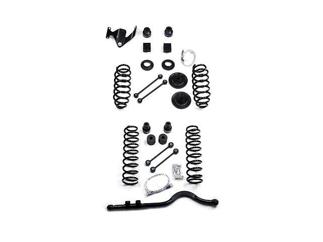 Teraflex 4 in. Suspension Lift Kit w/ 9550 Shocks & Track Bar (07-18 Jeep Wrangler JK 4 Door)