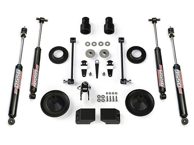 Teraflex 2.5 Inch Performance Budget Boost Kit w/ Shocks (07-18 Jeep Wrangler JK)