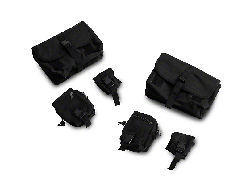Rugged Ridge Molle Storage Bag System (18-20 Jeep Wrangler JL Rubicon)