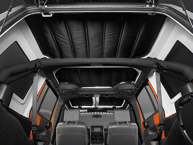 Rugged Ridge Hardtop 4 Piece Insulation Panel (07-10 Jeep Wrangler JK 4 Door)