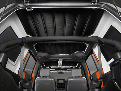 Rugged Ridge Hardtop 4 Piece Insulation Panel (07-10 Wrangler JK 4 Door)