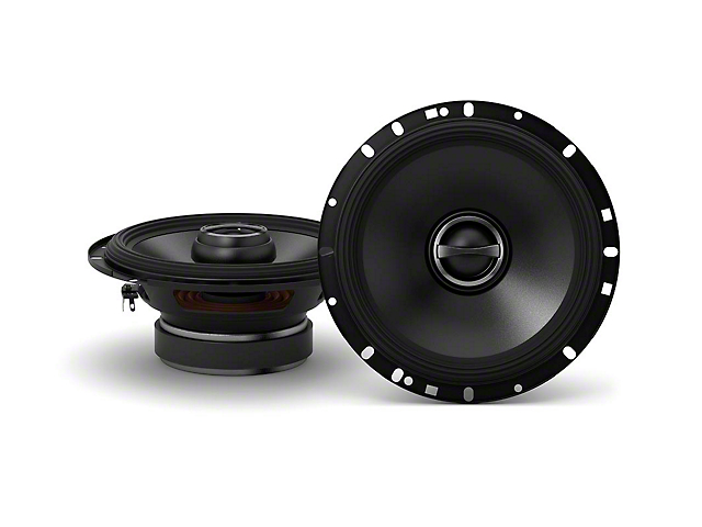 Alpine S-Series 6-1/2 in. Coaxial 2-Way Speakers - 80W (07-18 Jeep Wrangler JK)