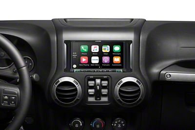 Alpine 7 in. In-Dash Restyle Mechless System (07-18 Jeep Wrangler JK)