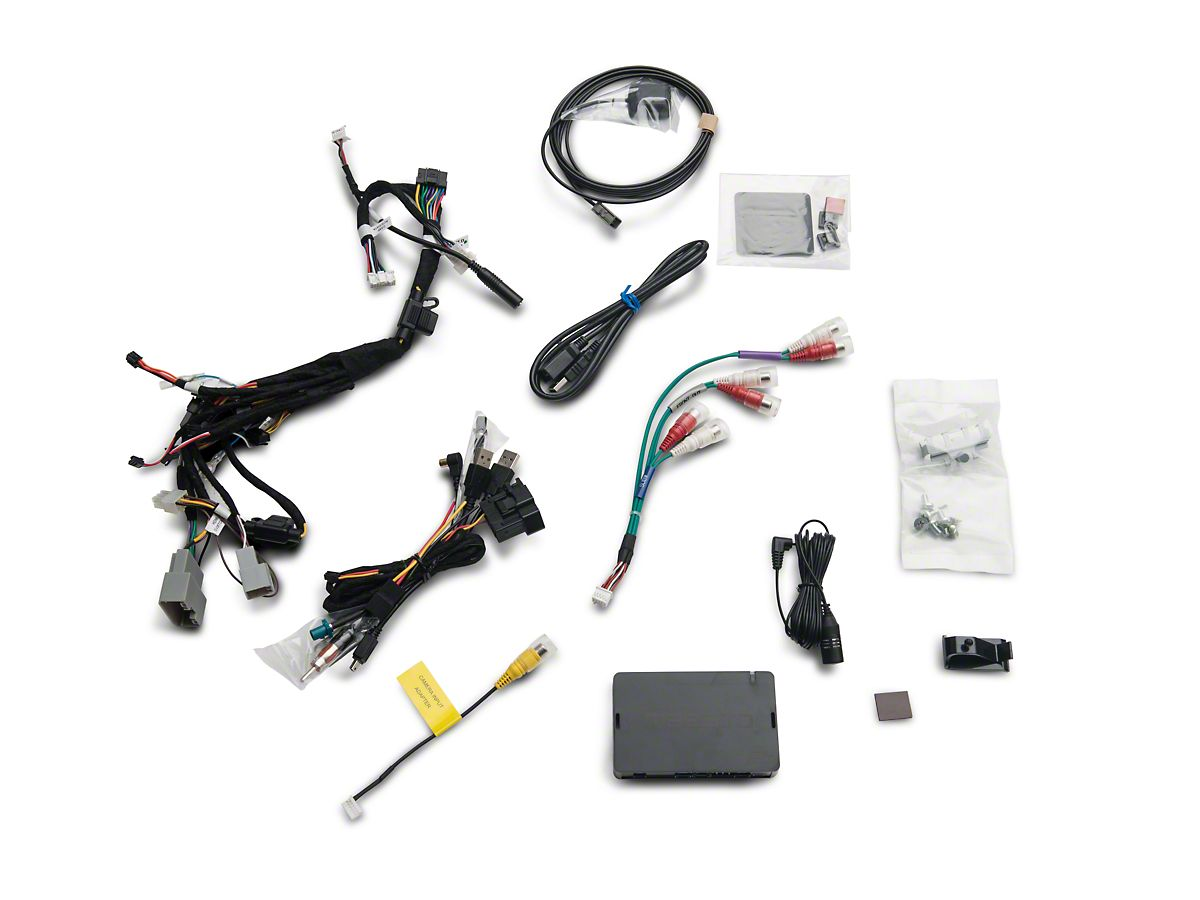 Alpine 7 in  In-Dash Restyle Mech-Less System (07-18 Jeep Wrangler JK)