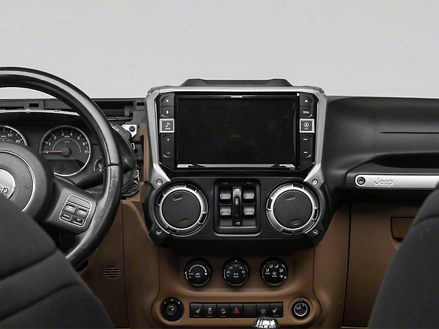 Alpine 9 in. In-Dash Restyle Navigation System w/ Off-Road Mapping (11-18 Jeep Wrangler JK)
