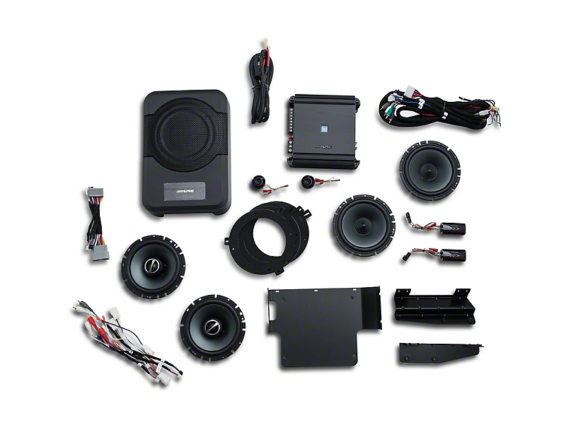 Alpine Full Sound System Upgrade - 320W (15-17 Jeep Wrangler JK 4 Door)