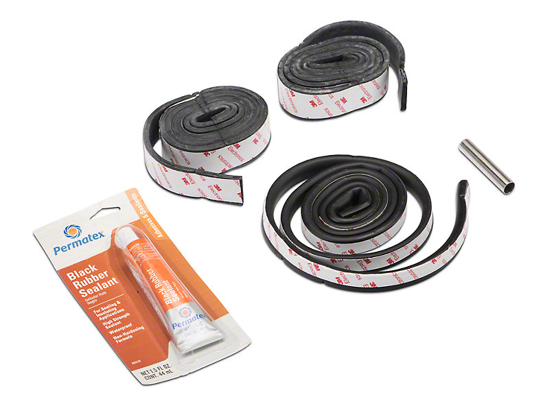 Hardtop Seal Kit & Sealant (87-06 Jeep Wrangler YJ & TJ)