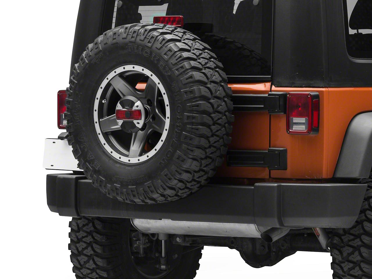 Alpine Spare Tire Rear View Camera & Light System (07-18 Jeep Wrangler JK)