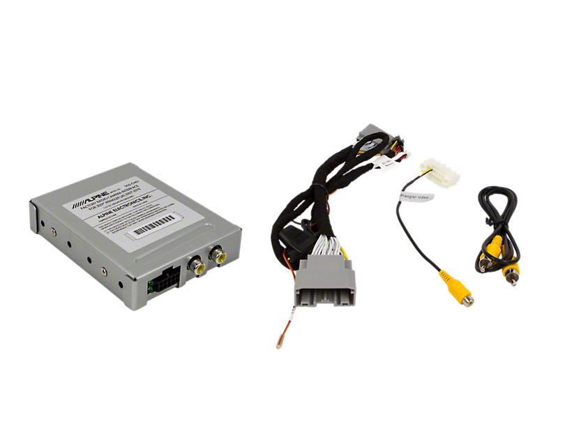Alpine Factory Radio Camera Interface (07-18 Jeep Wrangler JK)