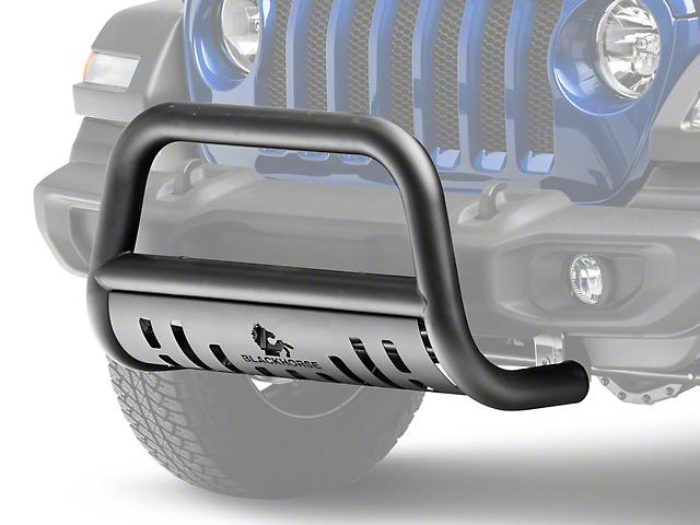 Bull Bar; Black (18-20 Jeep Wrangler JL)