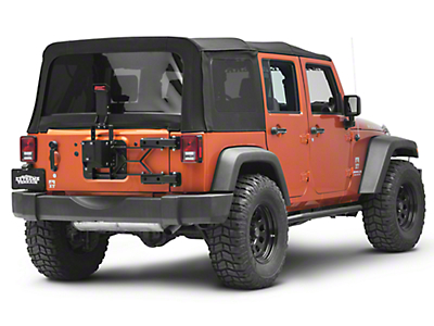 Aries Automotive Heavy Duty Spare Tire Carrier (07-18 Jeep Wrangler JK)