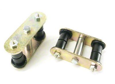 Teraflex HD Front Shackle Kit (87-95 Jeep Wrangler YJ)