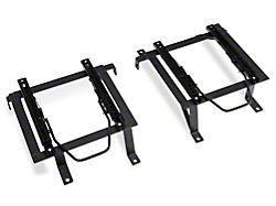 Corbeau Double Locking Seat Brackets; Driver and Passenger Side (15-18 Jeep Wrangler JK 4 Door)