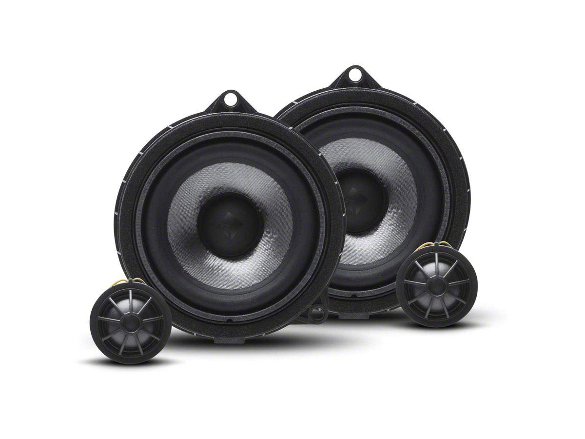 Rockford Fosgate 8 Speaker System Upgrade (18-20 Jeep Wrangler JL)