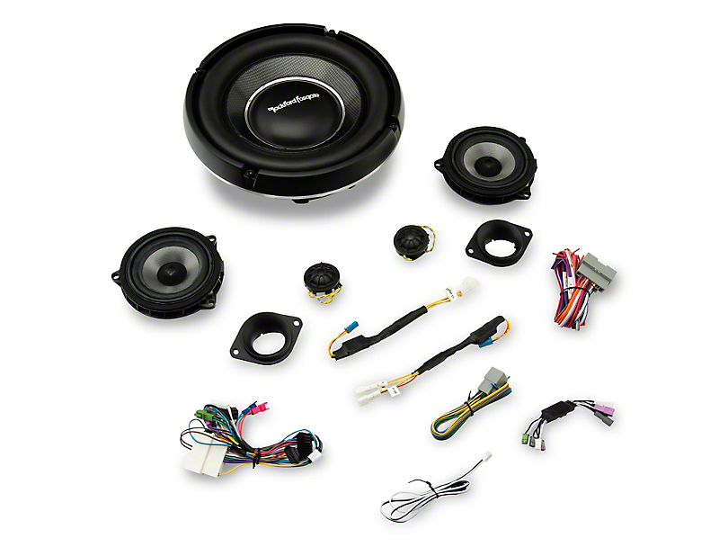 Rockford Fosgate 9 Speaker System Upgrade (18-20 Jeep Wrangler JL)