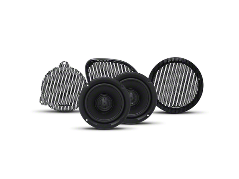 Rockford Fosgate 9 Speaker Alpine Element System Upgrade (07-18 Jeep Wrangler JK)