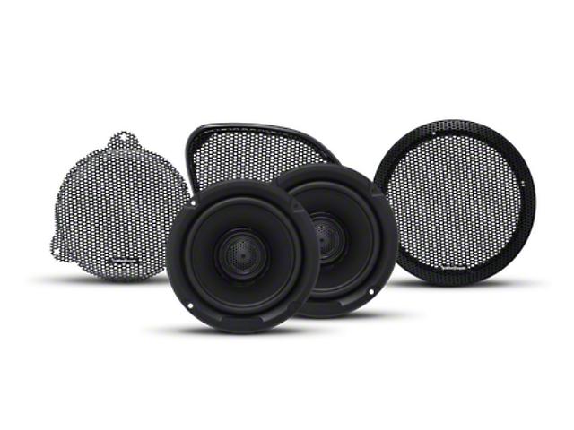 Rockford Fosgate 9-Speaker Alpine Element System Upgrade (07-18 Jeep Wrangler JK)