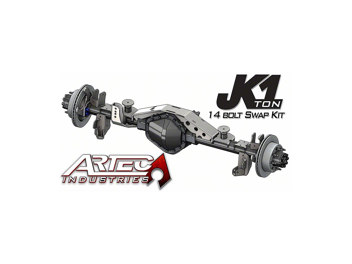 Artec Industries 1 Ton Rear 14 Bolt Swap Kit (07-18 Jeep Wrangler JK)