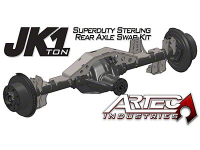Artec Industries Jeep Wrangler 1 Ton Front Dana 60 Swap Kit