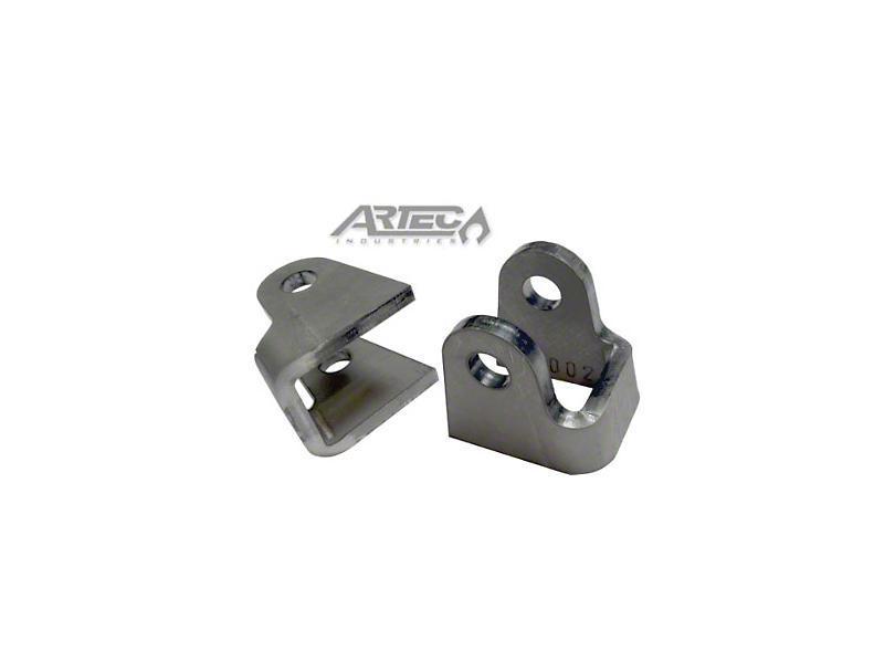 Artec Industries 1.25 in. Flat Bottom Shock Mounts (87-19 Jeep Wrangler YJ, TJ, JK & JL)