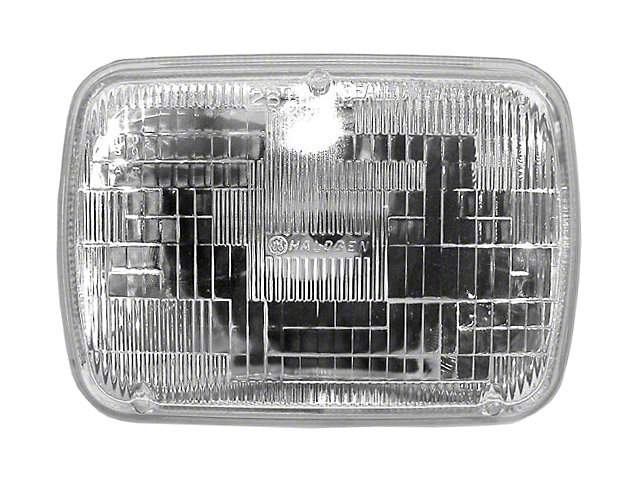 Sealed Beam Rectangular Head Light (87-95 Jeep Wrangler YJ)