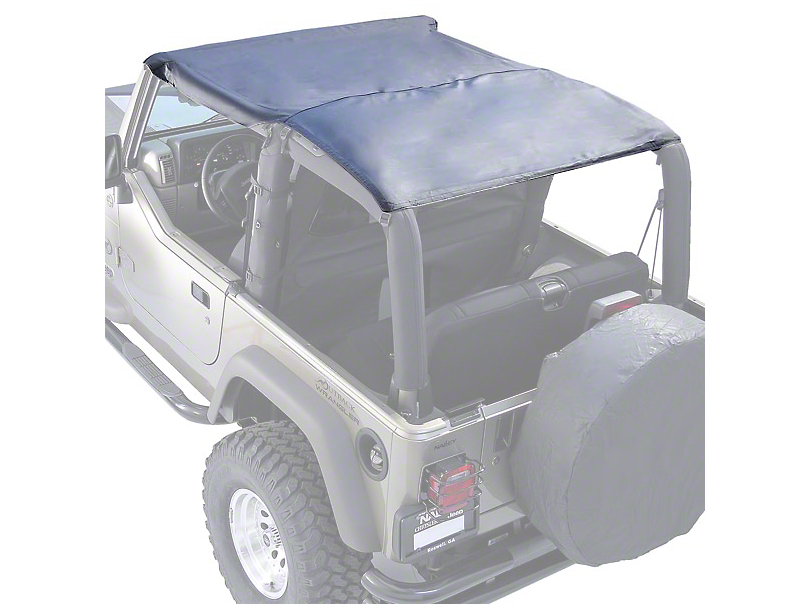 Rugged Ridge Roll Bar Top - Black Denim (97-06 Jeep Wrangler TJ)